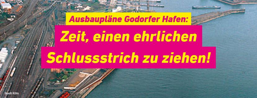 Godorfer Hafen wird nicht ausgebaut